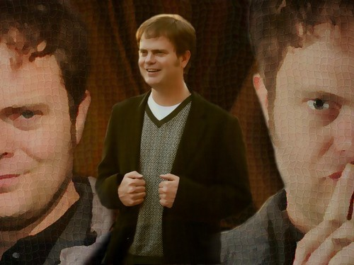 Rainn Wilson wallpaper I've done