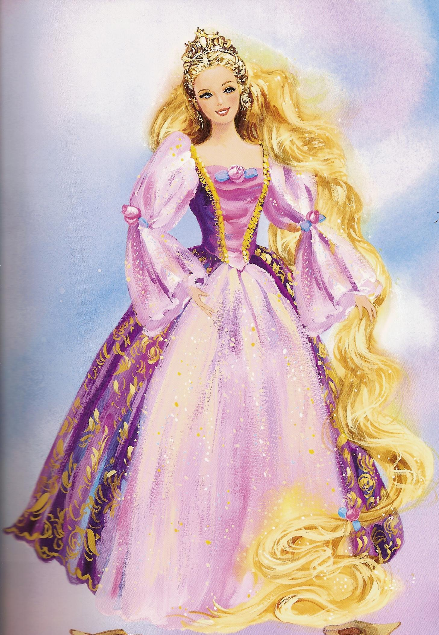 barbie repunzel