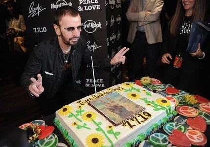 Ringo and his Birthday cake