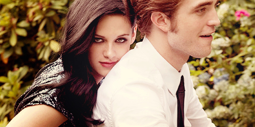 Robert Pattinson & Kristen Stewart wallpaper titled Rob & Kristen Banners ♥