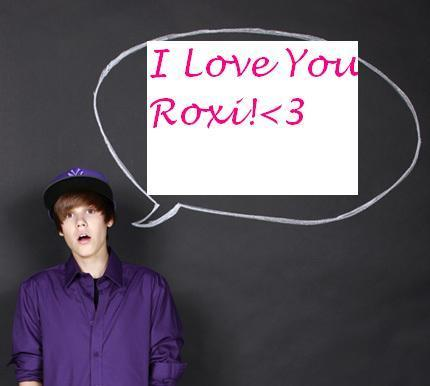 bieber loves you. Justin loves you!