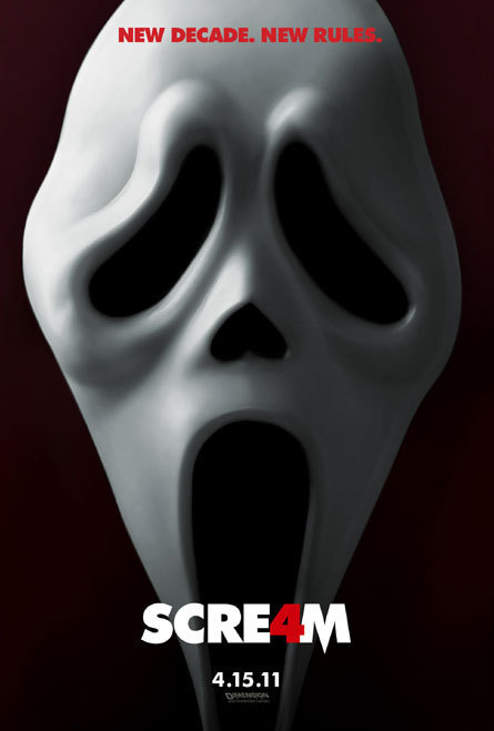 Scream 4 Teaser Poster