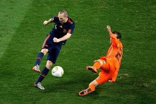 FIFA World Cup South Africa 2010 پیپر وال entitled Spain VS Netherlands