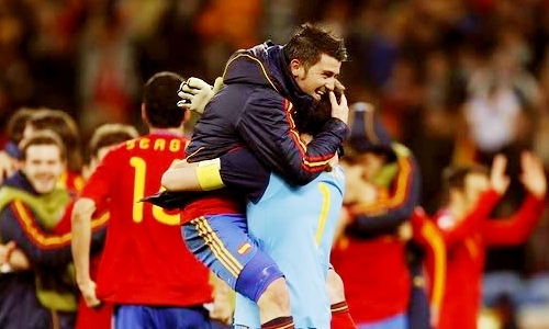 Spain - Winners of the World Cup 2010