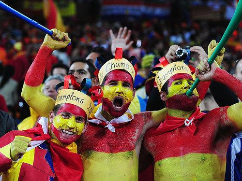 Spain vs Holland - World Cup Final