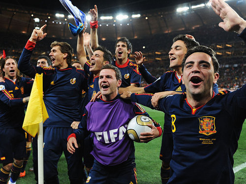 Spain National Football Team wallpaper called Spain win World Cup