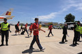 Spanish Football Team Arrives at Barajas Airport - fifa-world-cup-south-africa-2010 photo