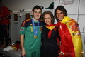 Spanish team with Rafa Nadal - fifa-world-cup-south-africa-2010 photo