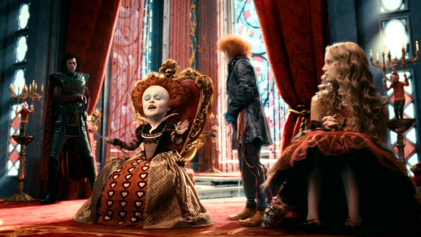 Stayne  The Knave Of Hearts in Tim Burton s  Alice In WonderlandQueen Of Hearts Alice In Wonderland Tim Burton