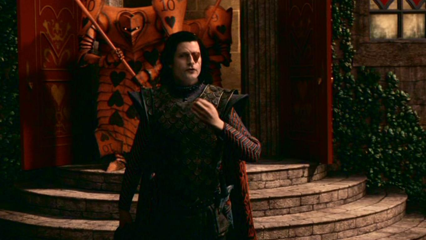 Stayne, The Knave Of Hearts in Tim Burton's 'Alice In Wonderland'