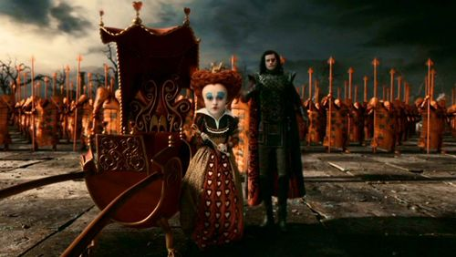 Ilosovic Stayne, Knave Of Hearts kertas dinding titled Stayne, The Knave Of Hearts in Tim Burton's 'Alice In Wonderland'
