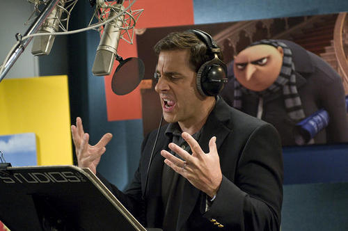 Steve Carell voices Gru