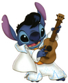 Stitch as Elvis - the-random-creatures-of-anime photo
