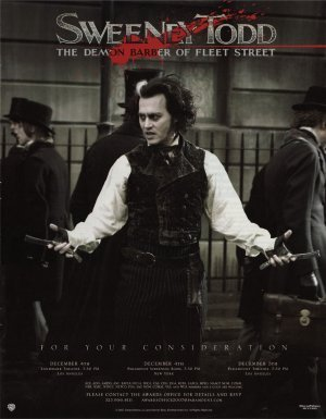 Tim Burton wallpaper entitled Sweeney Todd