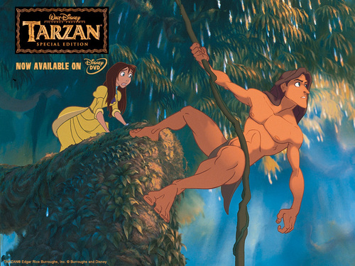 Disney wallpaper titled Tarzan