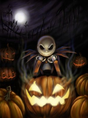 Tim برٹن پیپر وال entitled The Nightmare Before Christmas