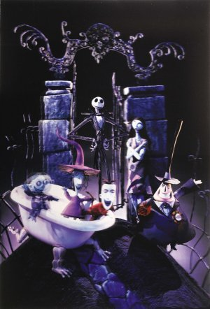 Tim burton kertas dinding entitled The Nightmare Before Krismas