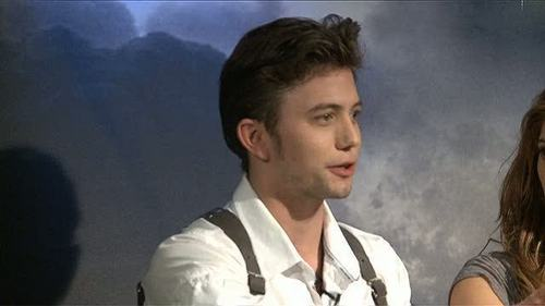 The Twilight Saga: Eclipse (2010) > Podcast: Cast & Filmmaker Chat - Part #2  - jackson-rathbone-and-ashley-greene Screencap
