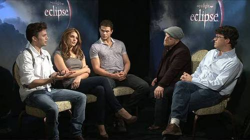 Jackson Rathbone & Ashley Greene wallpaper titled The Twilight Saga: Eclipse (2010) > Podcast: Cast & Filmmaker Chat - Part #2