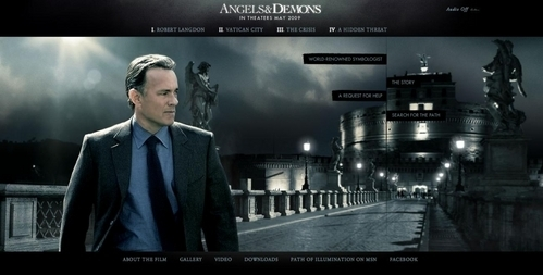 Tom Hanks in angeli and Demons