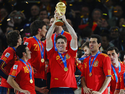 Torres lifts World Cup