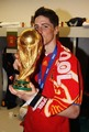 Torres with World Cup  - fernando-torres photo