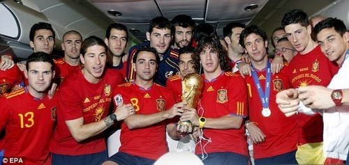 Spain National Football Team wallpaper called World Cup Winners