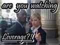 are you?! - leverage fan art