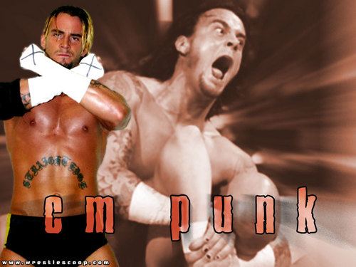 WWE wallpaper entitled cm punk