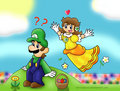 daisy and luigi - princess-daisy photo