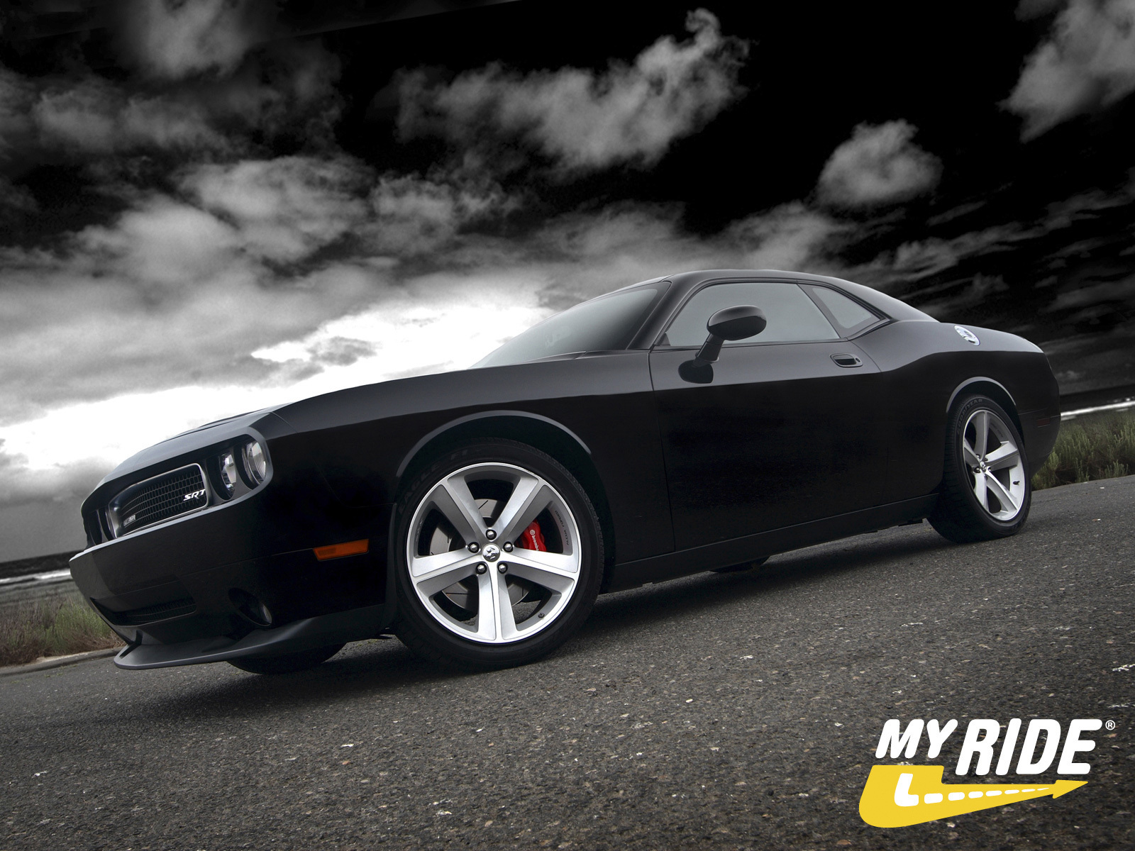 Muscle cars dogde charger srt