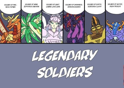 legendary soldiers (for fãs of alice gehabich)