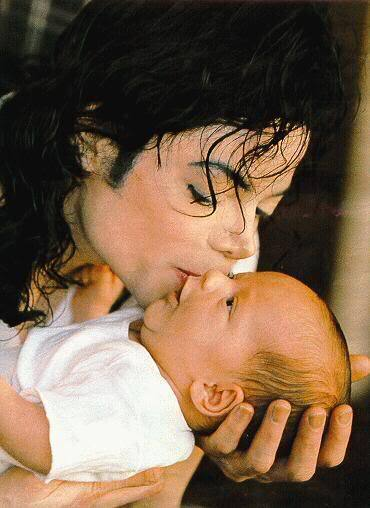 michael and his baby prince