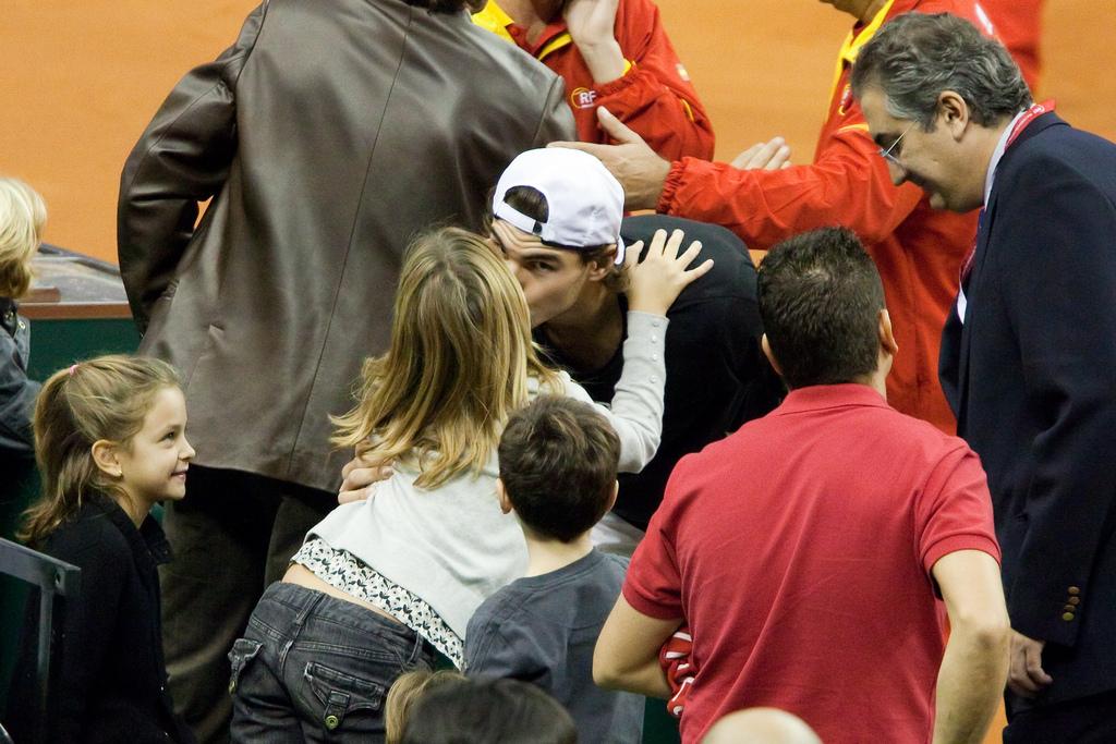 Nadal Kiss Rafael.