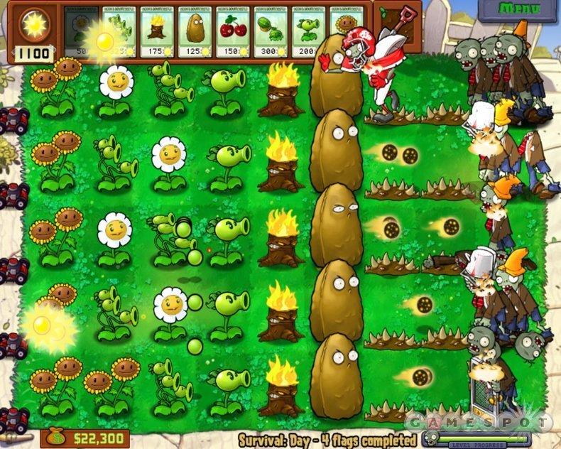 Plants vs zombies plant s zombies scene