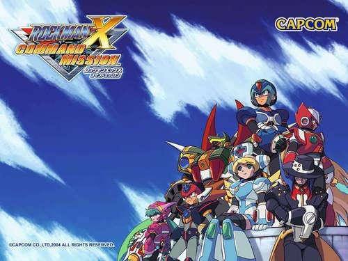 Megaman দেওয়ালপত্র entitled rockman x command mission