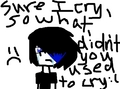 sad emo - emo fan art