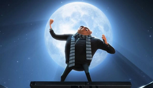 steal the moon - despicable-me Screencap