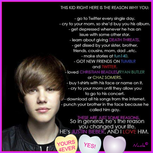 why we cinta Justin bieber wallpaper