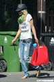 2010-07-15 AnnaLynne McCord strode barefoot out of her boyfriend's home in LA