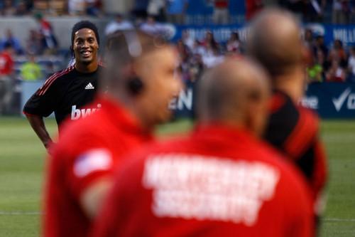 AC Milan v Chicago Fire(Ronaldinho)