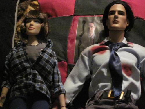Aaron & Haley गुड़िया
