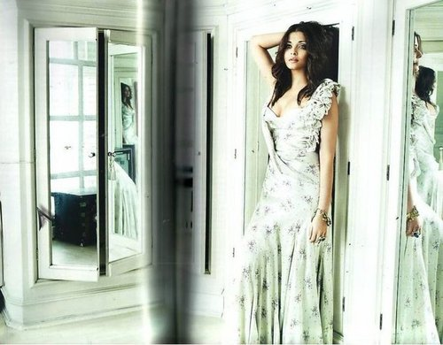 """Aishwarya Rai & Abhishek Bachchan - """"VOGUE"""" July 2010"""