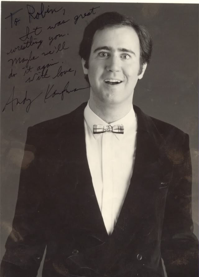 an overview of the world of andy kaufman