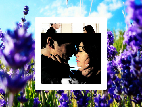 Ezra & Aria wallpaper called Aria&Ezra