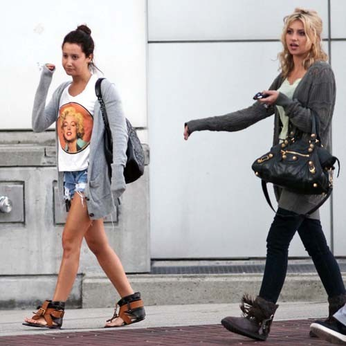 Ashley & Aly out in Vancouver