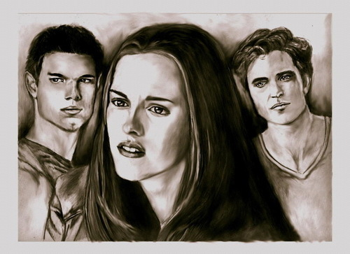 Bella, Edward and Taylor