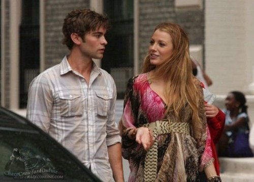 Blake & Chace on set July 14th (MORE!)