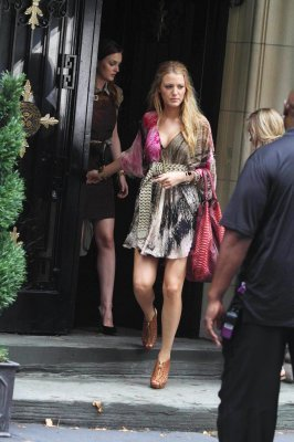 Blake Lively and Leighton Meester 14th July Season 4