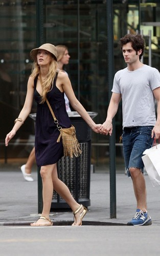 Blake Lively and Penn Badgley out in NYC (July 13)